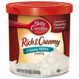 Home >> Betty Crocker Rich & Creamy White Frosting