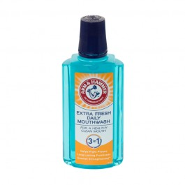 Arm & Hammer Extra Fresh Daily Mouthwash, 3-in-1 (400ml)