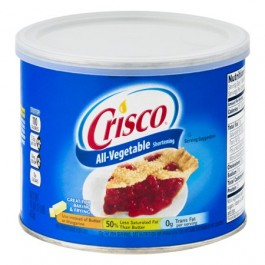 Crisco All-Vegetable Shortening (453g)
