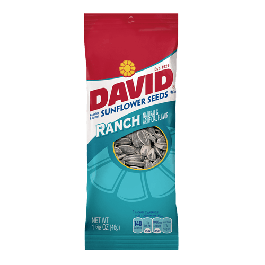 David Roasted & Salted Sunflower Seeds, Ranch Flavor (46g)