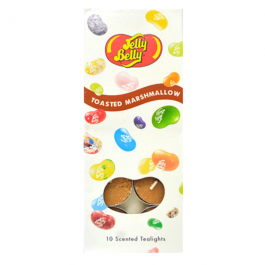Jelly Belly 10 scented Tealights, Toasted Marshmallow