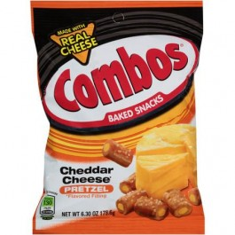 Combos Baked Snacks Cheddar Cheese Pretzel (178g)
