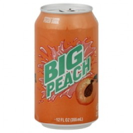 Big Peach Soda (355ml)