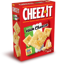 Cheez-It Italian Four Cheese Baked Snack Crackers (351g)