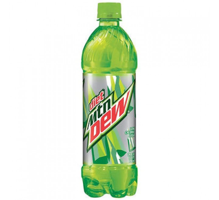 Mountain Dew Diet Bottle (591ml)