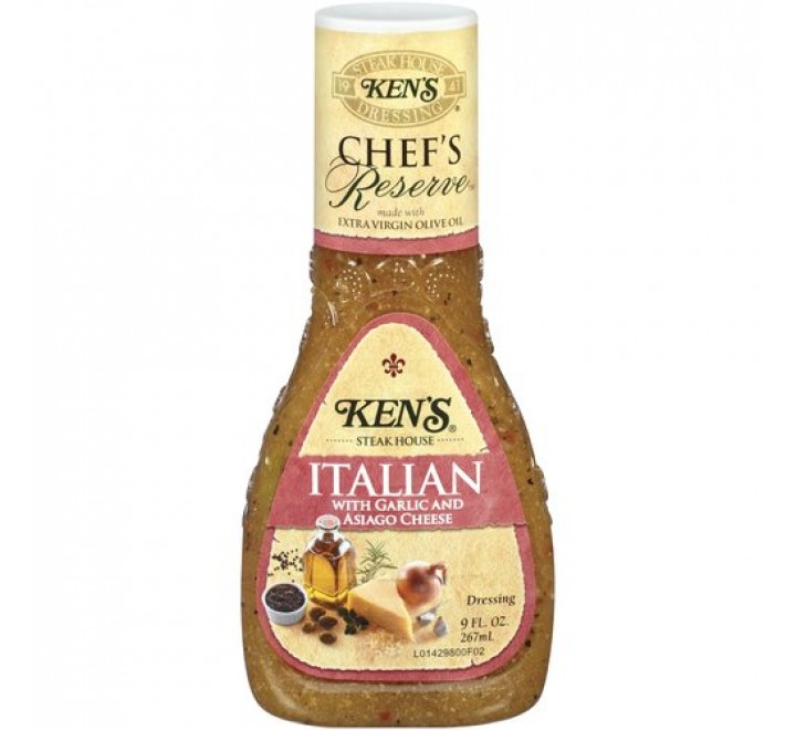 Ken's Steak House Chef's Reserve Italian Dressing (267ml)