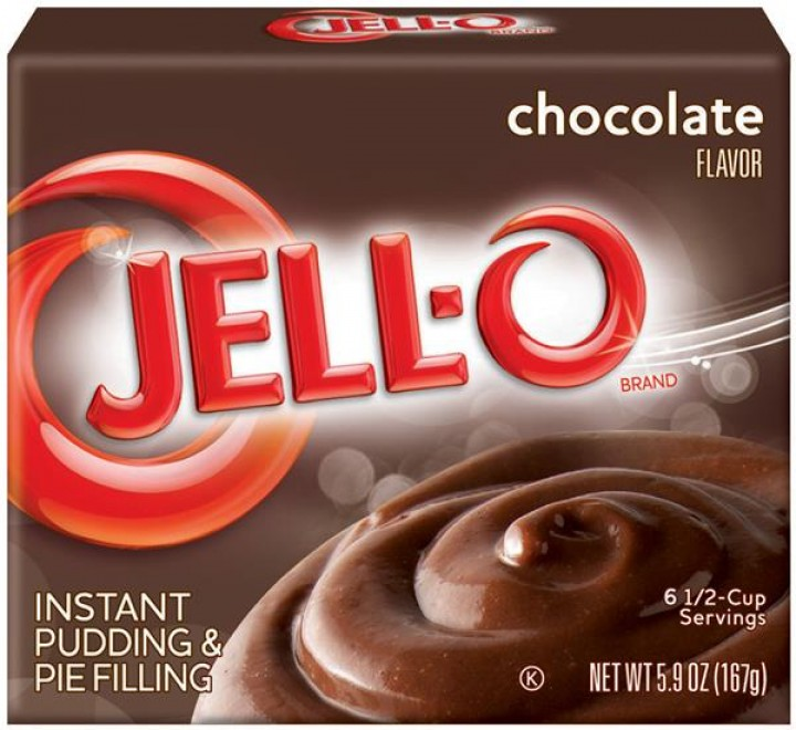 Jell-O Chocolate Instant Pudding & Pie Filling (167g)