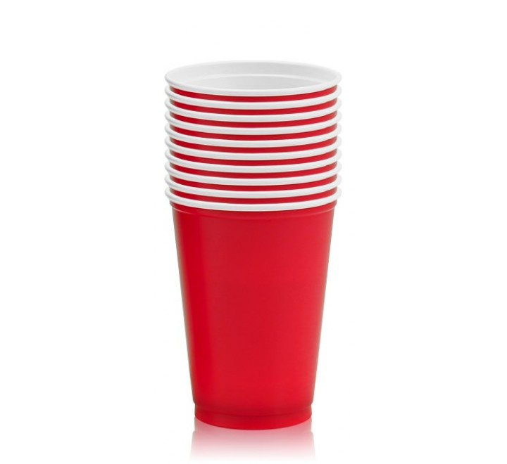 American Cups Red (10 Pack)