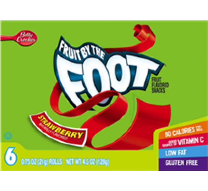 Betty Crocker Fruit By The Foot Strawberry