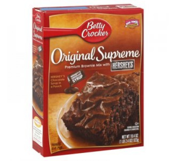 Betty Crocker Delights Original Supreme Brownie Mix (523g)