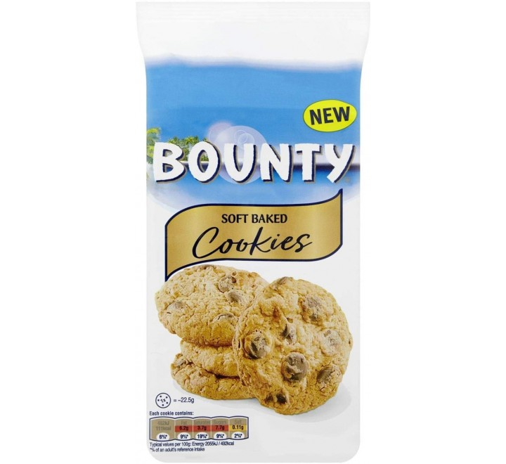 Bounty Soft Baked Cookies (180g)