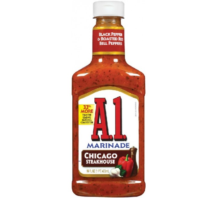 A1 Chicago Steakhouse Marinade (473ml)