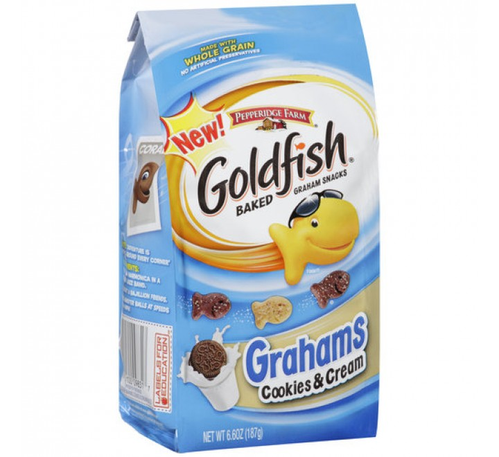 Goldfish Grahams Cookies & Cream (187g)