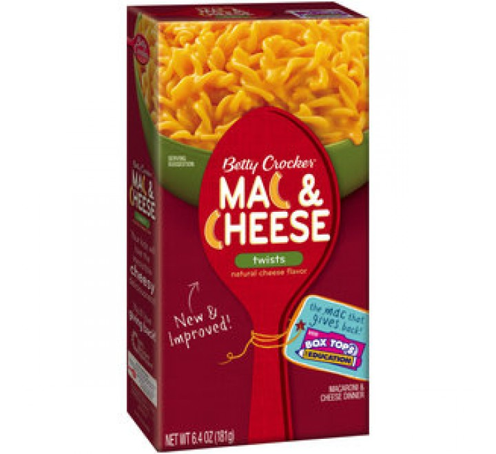 Betty Crocker Twists Mac & Cheese (198g)