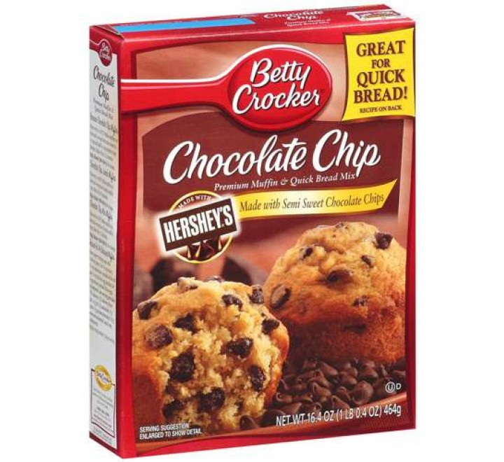 Betty Crocker Chocolate Chip Premium Muffin Mix