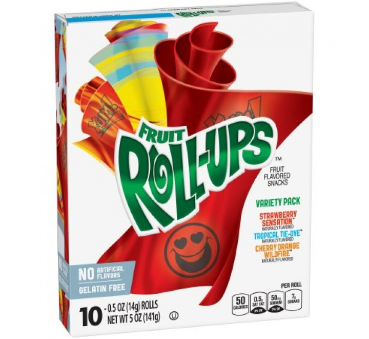 Betty Crocker Fruit Roll-Ups Variety Pack (10-pouches) (149g)