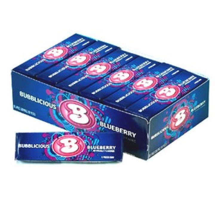 Bubblicious Blueberry Gum