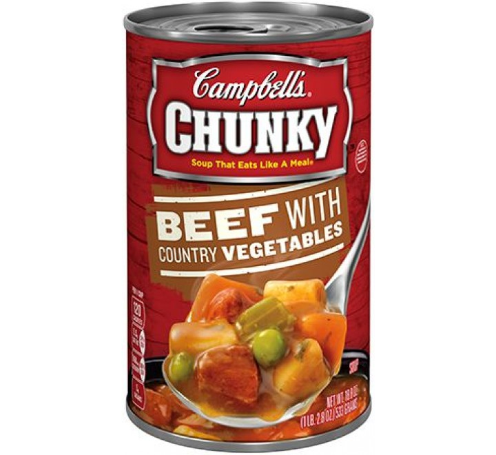 Campbell's Beef with Country Vegetables (553g)