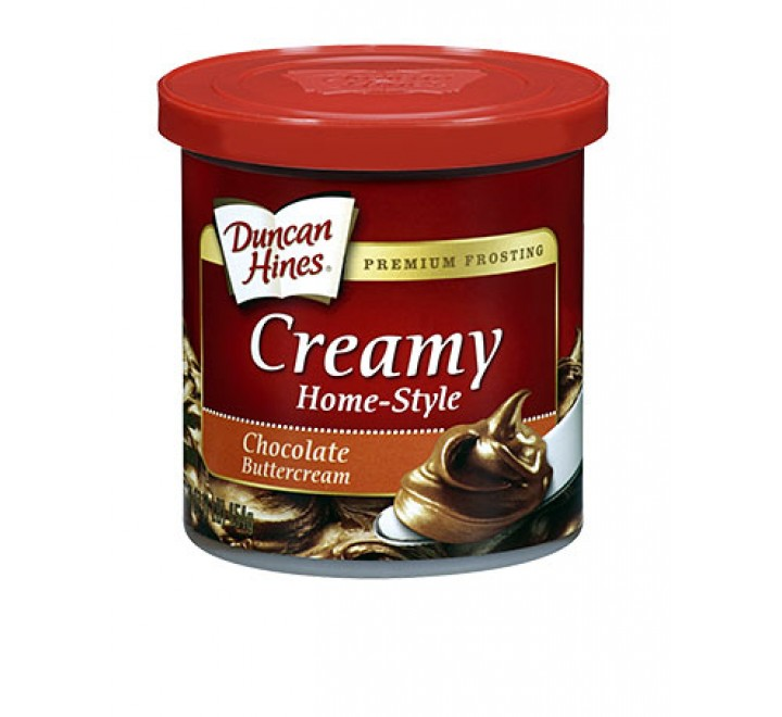 Duncan Hines Creamy Frosting, Chocolate Buttercream (454g)