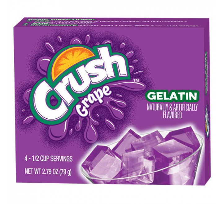 Crush Gelatin Grape (79g)