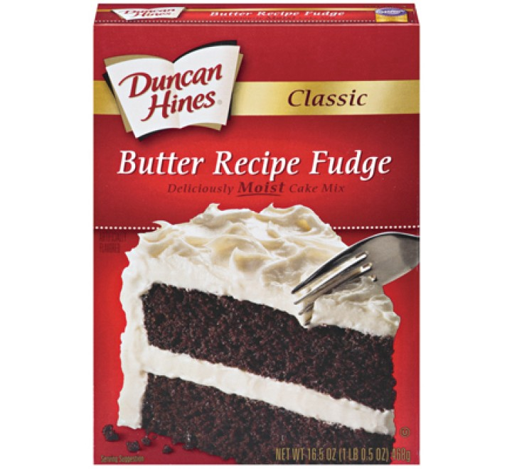 Duncan Hines Butter Recipe Fudge Cake Mix (468g)