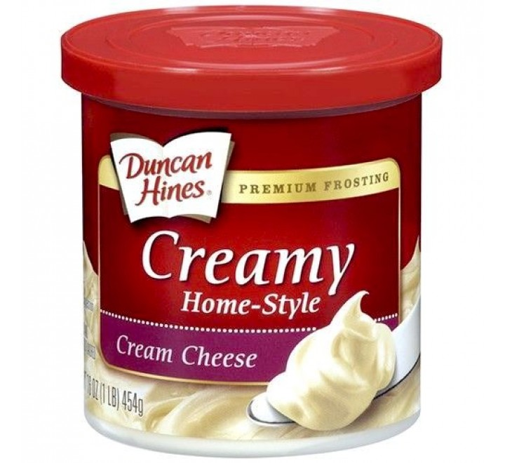 Duncan Hines Creamy Frosting, Cream Cheese (454g) USfoodz