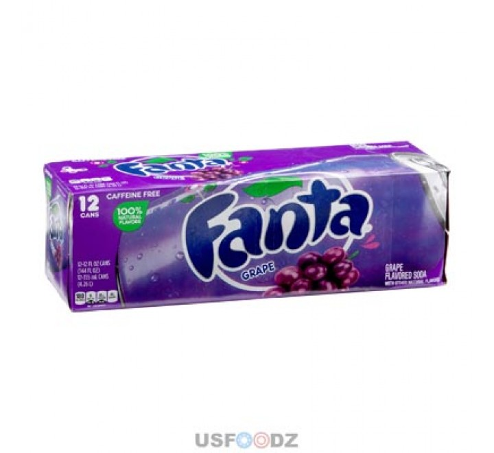 Fanta Grape - Fridge Pack (12x355ml) (BEST BY 06-05-20)