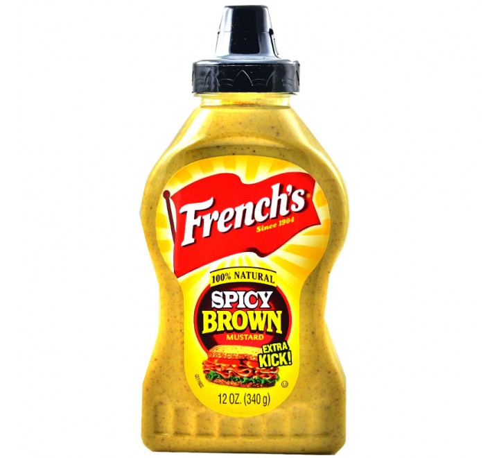 French's Bold n' Spicy Brown Mustard (340g)