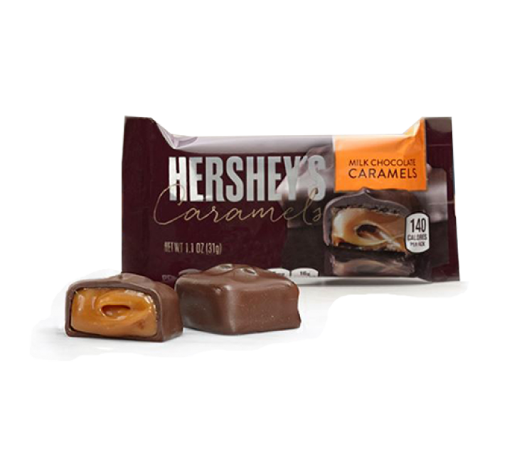 Hershey's Milk Chocolate Caramels (31g)