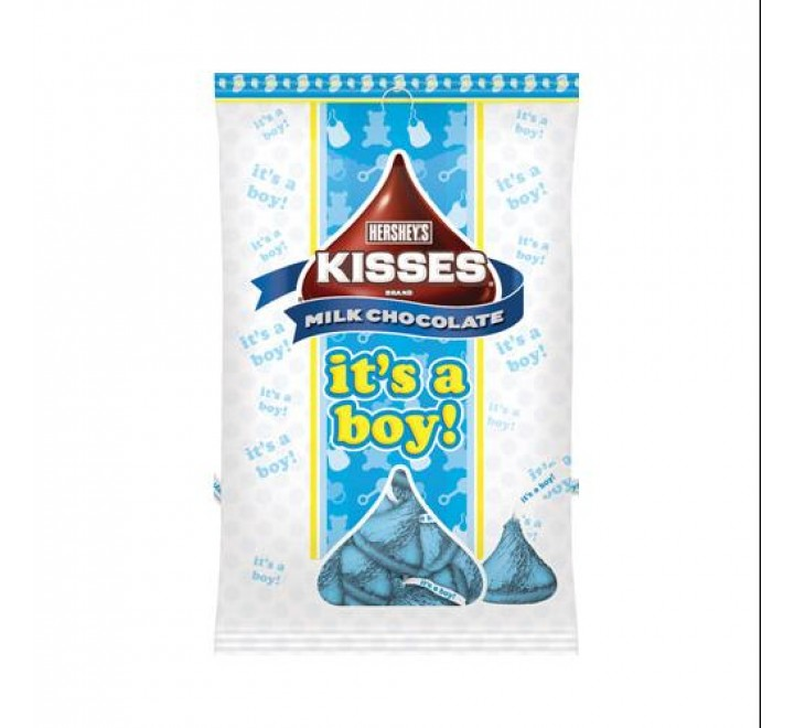 Hershey's Milk Chocolates Kisses It's a Boy! (198g)