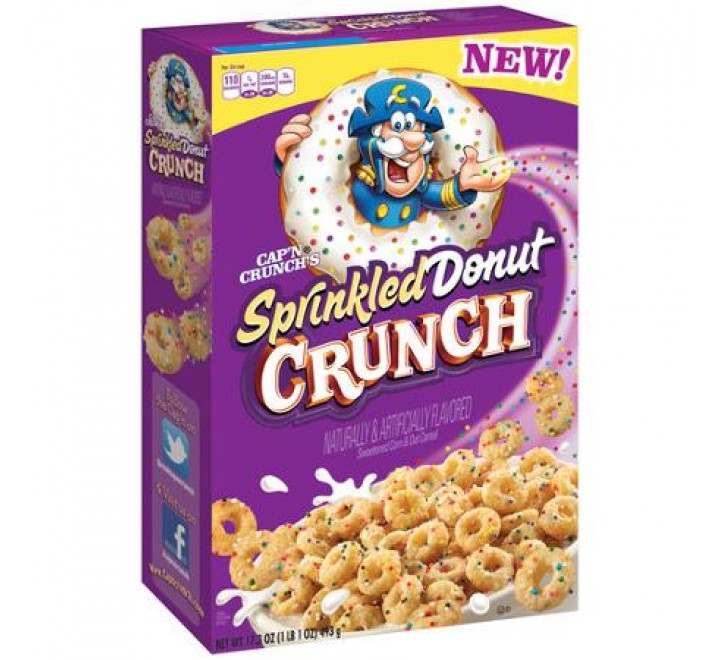 Cap'n Crunch Sprinkled Donut Crunch (353g)