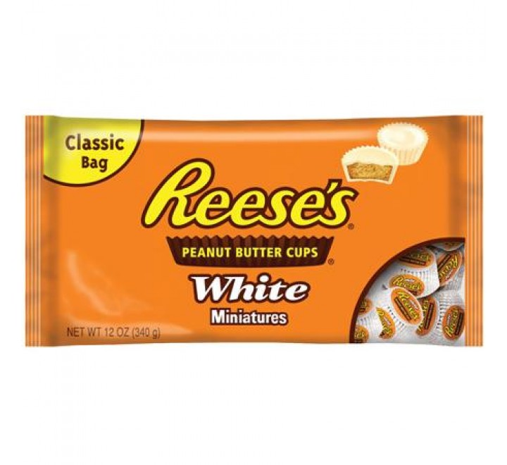 Reese's White Peanut Butter Cups Miniatures (340g)