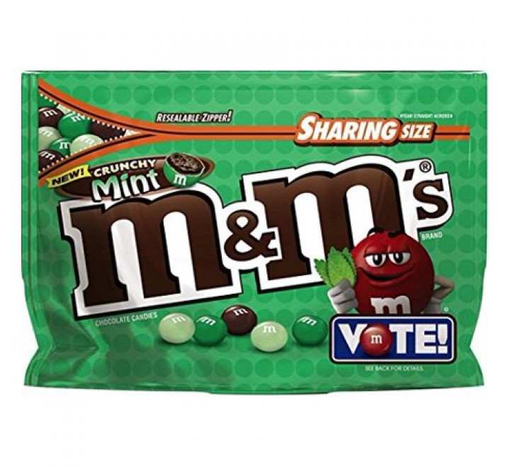 M&M's Crunchy Mint, Sharing Size (226g)
