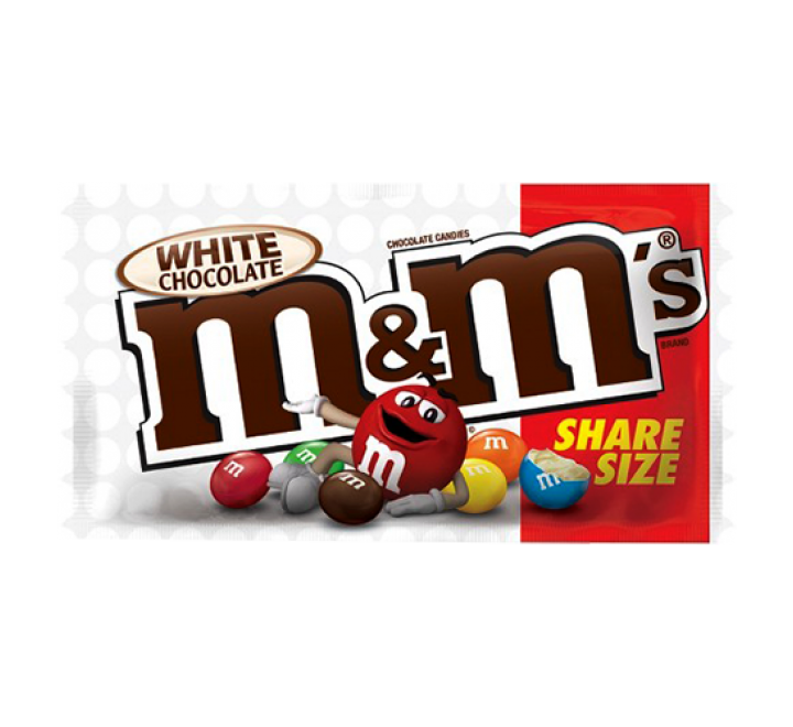 M&M's White Chocolate Share Size (70g)