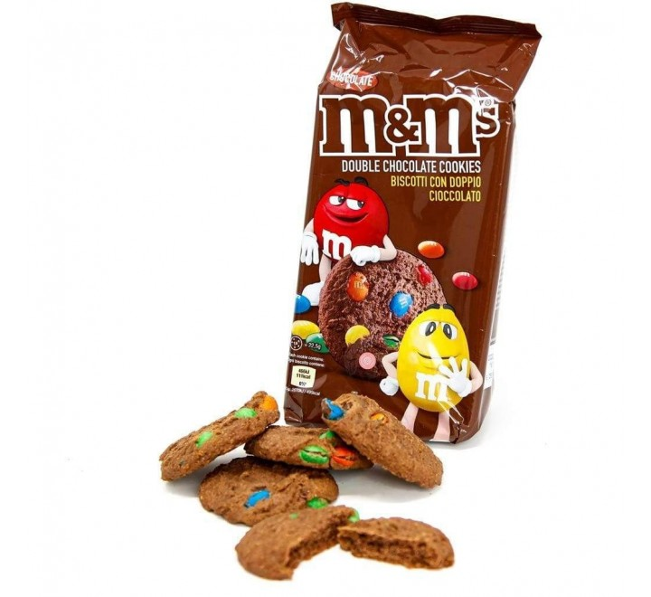 M&M's Cookies Double Chocolate (180g)