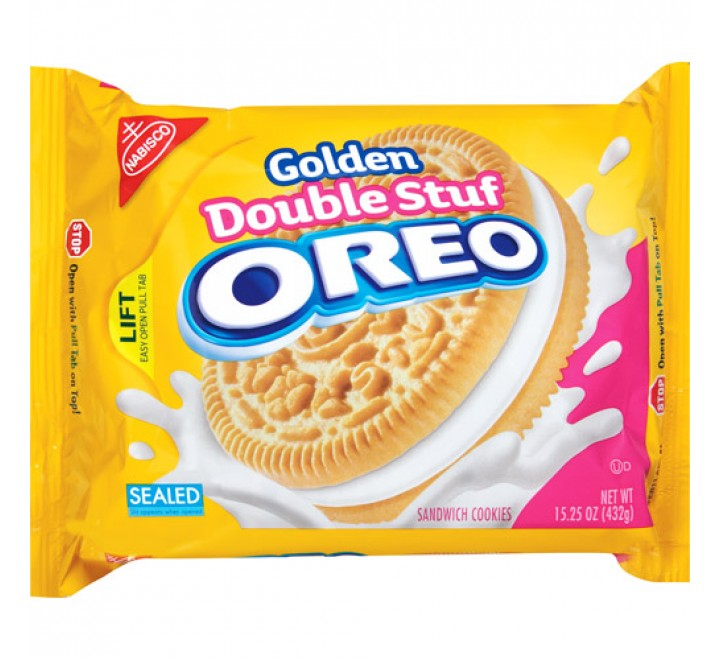 Oreo Golden Double Stuf (432g)
