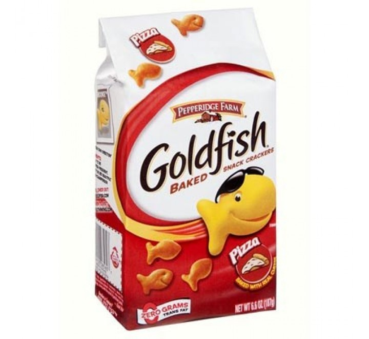 Goldfish Baked Snack Crackers, Pizza (187g)