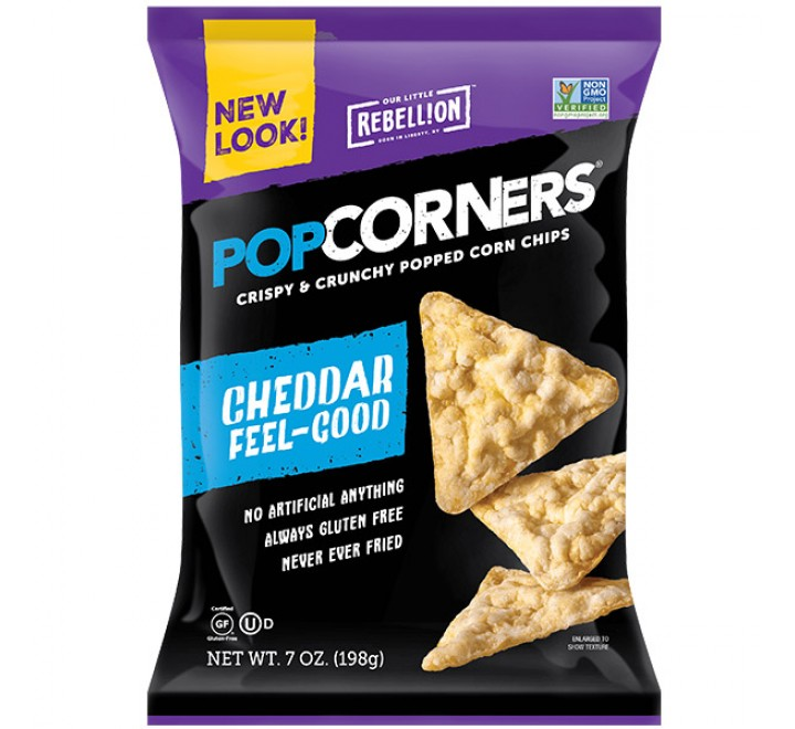 Popcorners Cheddar Feel Good Corn Chips (198g)