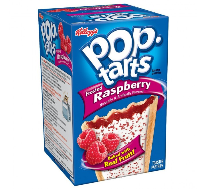 Kellogg's PopTarts Frosted Raspberry