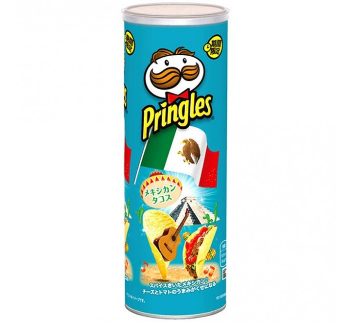 Pringles Mexican Taco (Limited Edition) (110g)