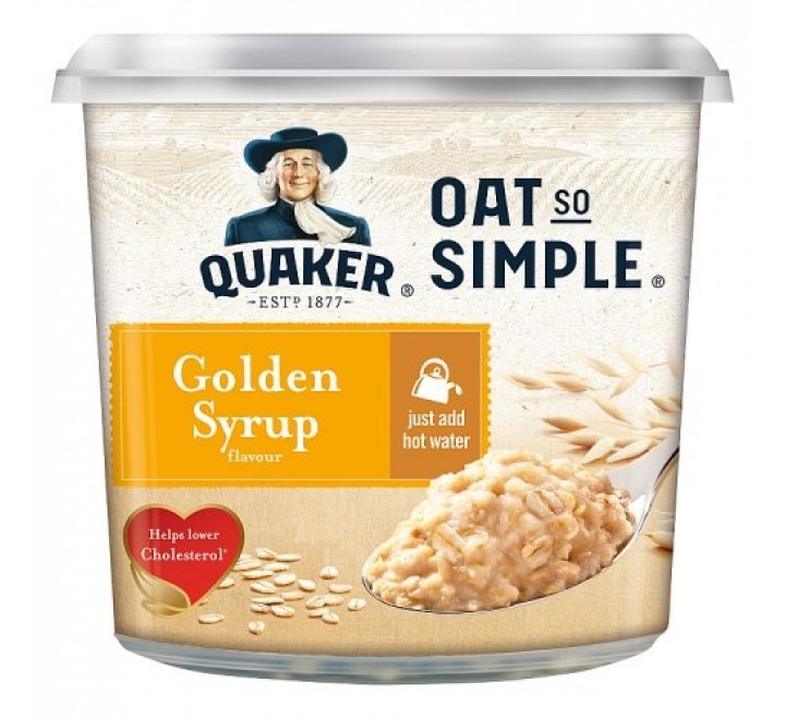 Quaker Oat So Simple Golden Syrup (57g)
