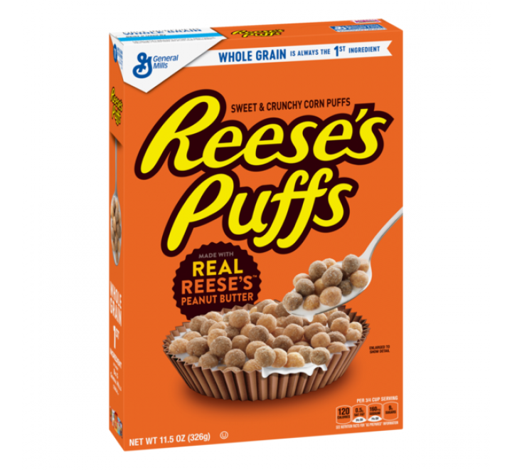 Reese's Puffs Cereal, Medium (326g)