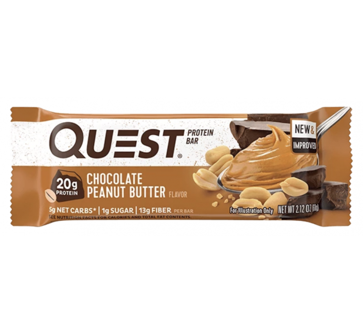 Quest Protein Bar, Chocolate Peanut Butter (60g)