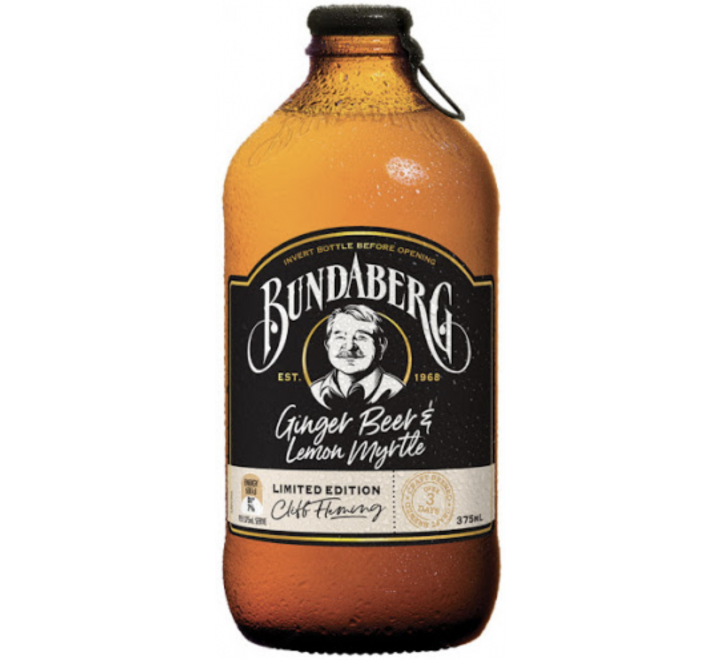 Bundaberg Ginger Beer & Lemon Myrtle (12x375ml) VOLUME