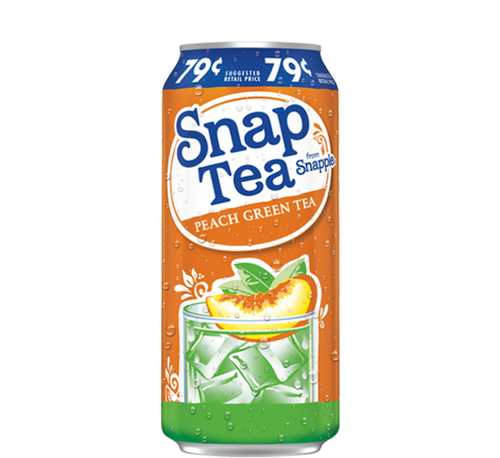 Snapple Peach Green Tea (473ml)