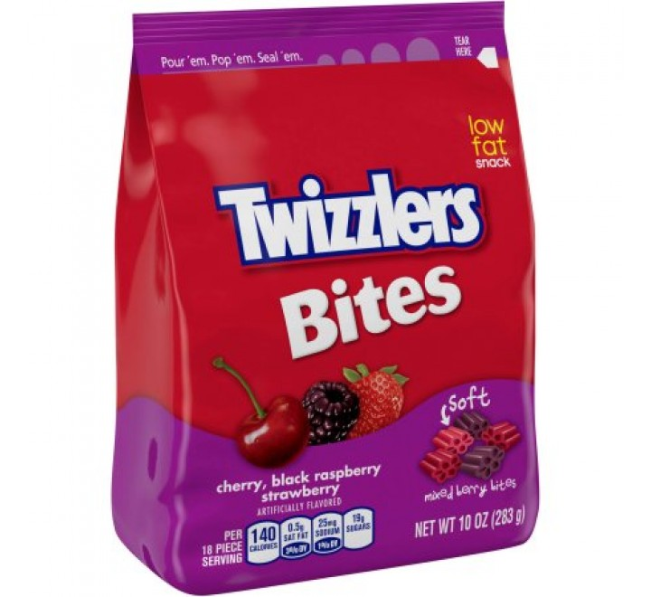 Twizzlers Mixed Berry Bites (283g)