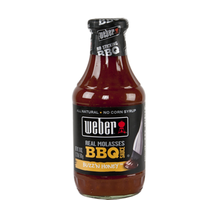 Weber Buzz'N Honey BBQ Sauce (510g)