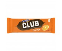 Mcvitie's Club Orange Chocolate Biscuit (176g)
