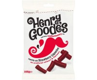 Henry Goode's Strawberry Liquorice (200g)