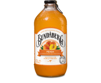 Bundaberg Sparkling Drink, Peach (12x375ml) VOLUME